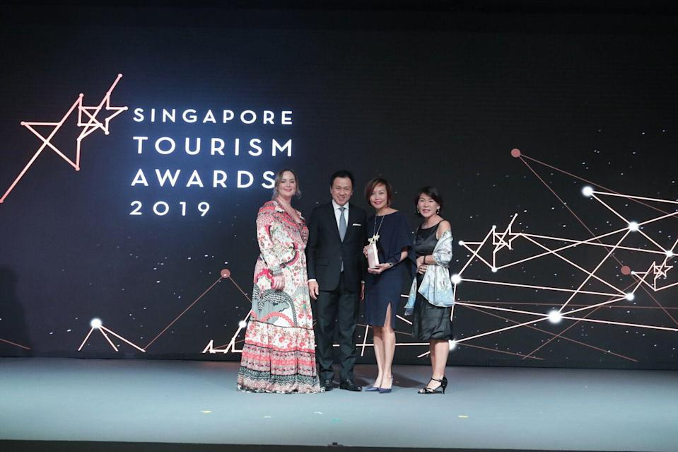 Best Shopping Mall Experience goes to. The Shoppes at Marina Bay Sands. (PHOTO: Singapore Tourism Board)