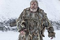 """<p>Bring Hodor back to life this Halloween with an amazingly simple costume. His look is easy to recreate and will hit everyone in the feels every time you ask them to """"Hold the door.""""And if you want to be a little punny, get a box of Raisin Bran cereal and tie it to your back, since Hodor was Bran's carrier. </p><p><a class=""""link rapid-noclick-resp"""" href=""""https://www.amazon.com/Forum-Deluxe-Hooded-Costume-Brown/dp/B001AQV1K6?tag=syn-yahoo-20&ascsubtag=%5Bartid%7C10070.g.28762544%5Bsrc%7Cyahoo-us"""" rel=""""nofollow noopener"""" target=""""_blank"""" data-ylk=""""slk:SHOP BROWN ROBE"""">SHOP BROWN ROBE</a> </p>"""