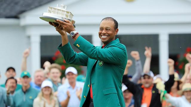 Winning the Masters was an emotional experience for Tiger Woods and one he still struggles to believe he pulled off.