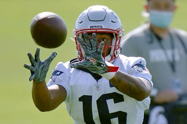 Pats' young WRs say they're ready to contribute in Year 2