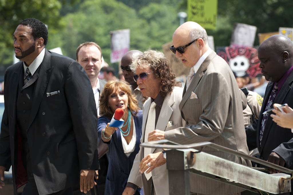 """Al Pacino and Jeffrey Tambor in HBO Films? """"Phil Spector,"""" debuting Sunday, March 4 on HBO."""