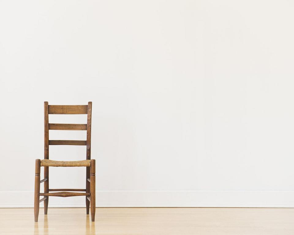 "<p>Folding chairs are great, not just because they're portable, but also because they're typically made out of durable steel. Rest your hand on the chair while you perform bent-over single-arm rows with a milk jug or simply use it to rest your feet on while executing decline <a href=""https://www.runnersworld.com/training/a32067137/how-to-do-a-push-up/"" rel=""nofollow noopener"" target=""_blank"" data-ylk=""slk:push-ups"" class=""link rapid-noclick-resp"">push-ups</a> or Bulgarian split squats. To perform a triceps dip, start sitting on the chair with your hands at your sides, fingers wrapped around the edge of the seat. Extend legs to form a straight line from ankles to hips. Lift your torso about two inches in front of the chair. This is your starting position. Slowly lower down until your elbows form a 90-degree angle, then press back to start for 1 rep. Repeat for desired reps.</p>"