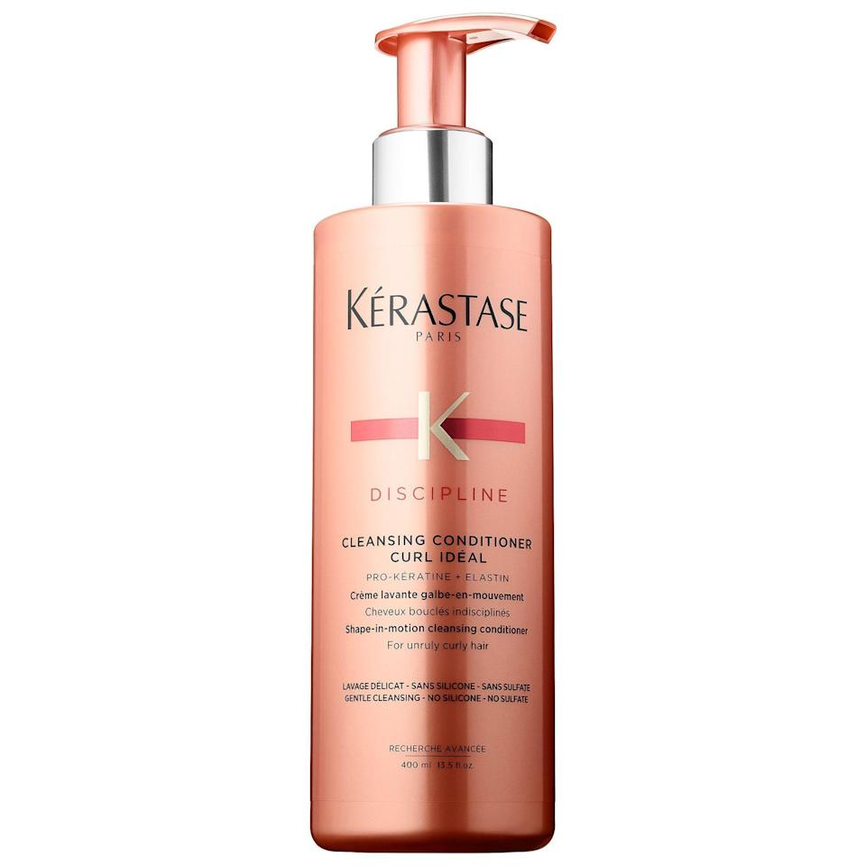 """<p><strong>Kérastase</strong></p><p>sephora.com</p><p><strong>$48.00</strong></p><p><a href=""""https://go.redirectingat.com?id=74968X1596630&url=https%3A%2F%2Fwww.sephora.com%2Fproduct%2Fdiscipline-cleansing-conditioner-P434419&sref=https%3A%2F%2Fwww.goodhousekeeping.com%2Fbeauty-products%2Fg32715498%2Fbest-shampoos-brands%2F"""" rel=""""nofollow noopener"""" target=""""_blank"""" data-ylk=""""slk:Shop Now"""" class=""""link rapid-noclick-resp"""">Shop Now</a></p><p>One of the top performers in the GH Beauty Lab's cleansing conditioners and co-washes test, Kérastase's 2-in-1 was the most softening and detangling formula on textured hair. <strong>It ranked </strong><strong>best in evaluations at making </strong><strong>hair more manageable </strong><strong>than regular shampoo did. </strong>""""My curls look the best they ever have,"""" a tester<br>raved.<br></p>"""