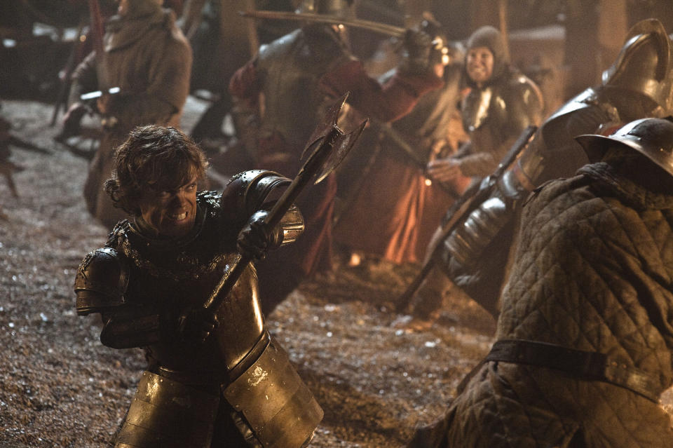 Peter Dinklage as Tyrion Lannister in Game of Thrones. (HBO)