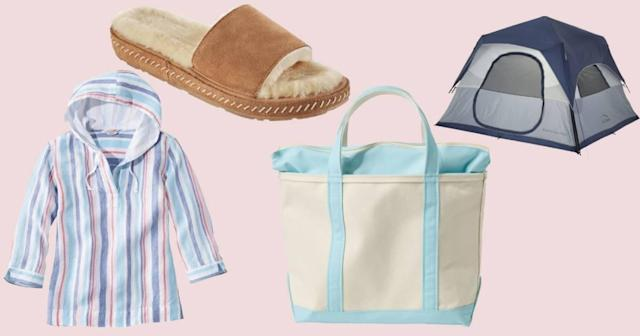 From classic totes to camping gear, nearly everything is on sale today!