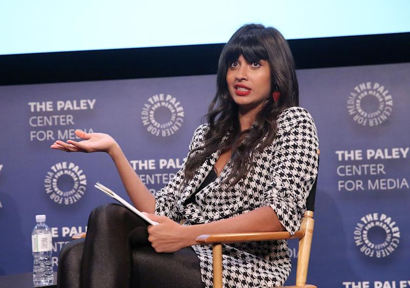 Jameela Jamil is slamming the anti-abortion law in Georgia — and reveals her personal reason for doing so. (Photo: Jesse Grant/Getty Images for VICE News )