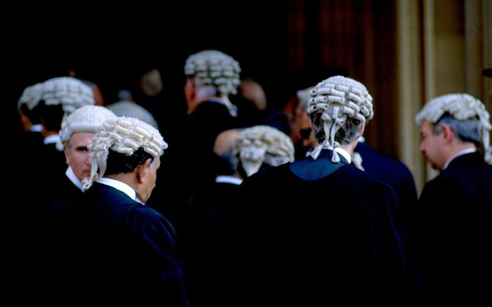 Barristers have worn horsehair wigs for nearly 200 years