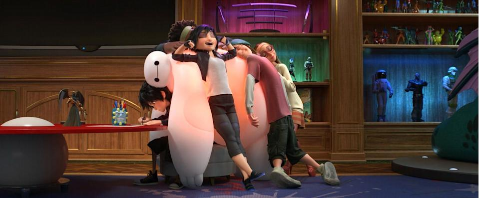 Big Hero 6 will be hitting UK screens on December 27th (Disney)