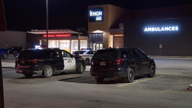 Police were called to the hospital, which is between Ottawa and Montreal, on Thursday evening, and cruisers were still there into Friday morning.