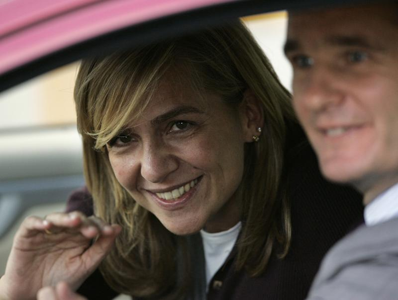 No fairy tale: Spain's princess faces court date