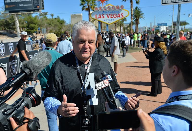 Clark County Commissioner Steve Sisolak won the Democratic nomination for governor of Nevada on Tuesday, helped by the backing of one of his party's most prominent figure, former Senate Majority Leader Harry Reid. (Sam Wasson via Getty Images)