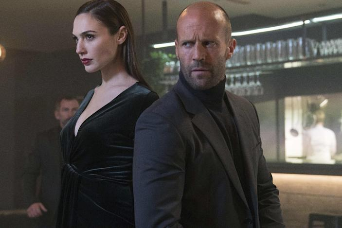 This photo provided by Wix shows a still from the company's first Super Bowl 51 spot featuring Gal Gardot and Jason Statham. The New England Patriots defeated the Atlanta Falcons, 34-28, in overtime, in Super Bowl 51, on Sunday, Feb. 5, 2017. (Wix via AP)