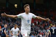 Patrik Schick scored both goals - including one for the ages - in the Czech Republic's 2-0 win over Scotland on Monday