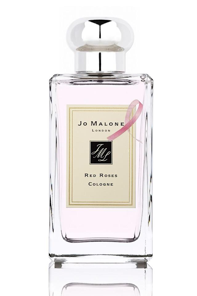 "<p><a rel=""nofollow"" href=""http://www.jomalone.co.uk/product/3588/10066/fragrances/colognes/light-floral/red-roses-cologne/red-roses-cologne?cm_mmc=GoogleBase-_-ShoppingFeed-_-LightFloral-_-RedRosesCologne&gclid=Cj0KEQjwg8i_BRCT9dHt5ZSGi90BEiQAItdjpCaBXyJ1dkDVLDF3sCtMYNNfN7FgyHz3CvPrqU099IAaAt5q8P8HAQ"">Jo Malone's Red Roses Cologne</a>, £94 for 100ml<br></p><p>One of Jo Malone London's classic and cult scents, which contains seven varieties of the namesake flower, is once again helping support the <a rel=""nofollow"" href=""https://www.bcrf.org/"">Breast Cancer Campaign Foundation</a>. Charitable giving never smelled so sweet.</p><p><strong>The donation: </strong>£20 from each sale.<br></p><p><a rel=""nofollow"" href=""https://www.jomalone.co.uk/product/3588/10066/fragrances/colognes/light-floral/red-roses-cologne/red-roses-cologne?cm_mmc=GoogleBase-_-ShoppingFeed-_-LightFloral-_-RedRosesCologne&gclid=Cj0KEQjwg8i_BRCT9dHt5ZSGi90BEiQAItdjpCaBXyJ1dkDVLDF3sCtMYNNfN7FgyHz3CvPrqU099IAaAt5q8P8HAQ"">SHOP</a></p>"