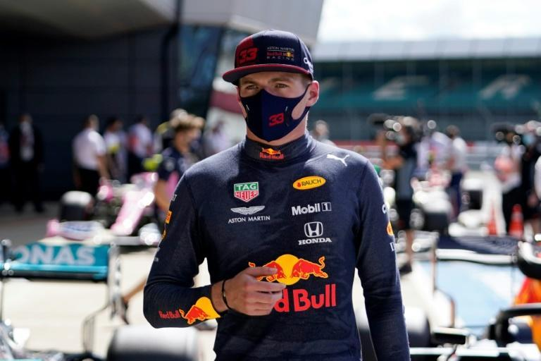 'Fighting chance': Red Bull's Max Verstappen after finishing third in qualifying (AFP Photo/Will Oliver)