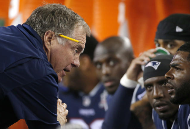 Bill Belichick and the Patriots will need to bounce back from a rough Week 1. (AP)