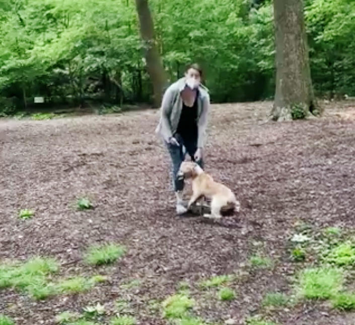 A video showing a white woman calling New York City police alleging that a black man was threatening her in Central Park after he asked her to put her dog on a leash has gone viral. (Christian Cooper)
