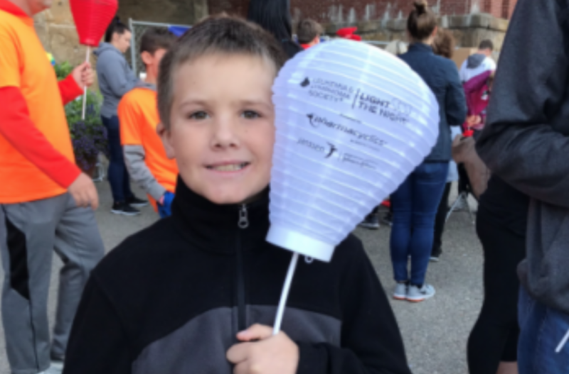 A ten-year-old cancer survivor will be sworn in as police chief for a day in Cincinnati. (Photo: Light the Night)