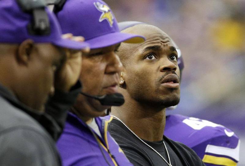 Recovering Peterson ready to receive