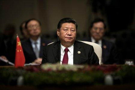 China's President Xi Jinping looks on during the BRICS Summit in Johannesburg, South Africa, July 26, 2018. Gulshan Khan/Pool via REUTERS