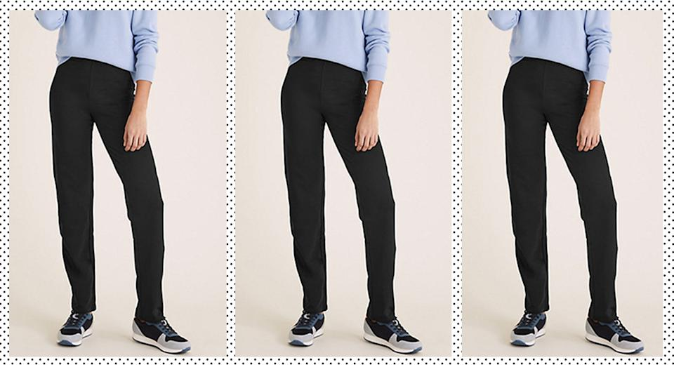 These top-rated M&S joggers are only £12.50. (Marks & Spencer)