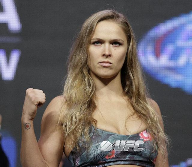 UFC's Ronda Rousey: 'I want to be the highest-grossing actor'