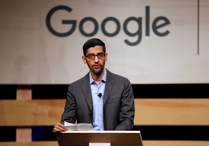 Corrected: Alphabet's 'Other bets' in focus as Google's Pichai takes helm