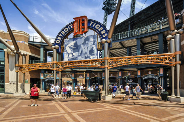 """<a class=""""link rapid-noclick-resp"""" href=""""/mlb/teams/detroit/"""" data-ylk=""""slk:Tigers"""">Tigers</a> minor leaguer Chace Numata died on Monday after suffering injuries in a skateboarding accident. (Getty)"""