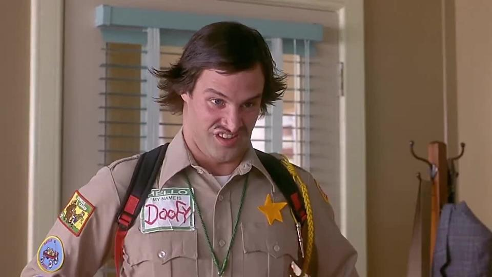 Dave Sheridan as Officer Doofy in Scary Movie. (Dimension)