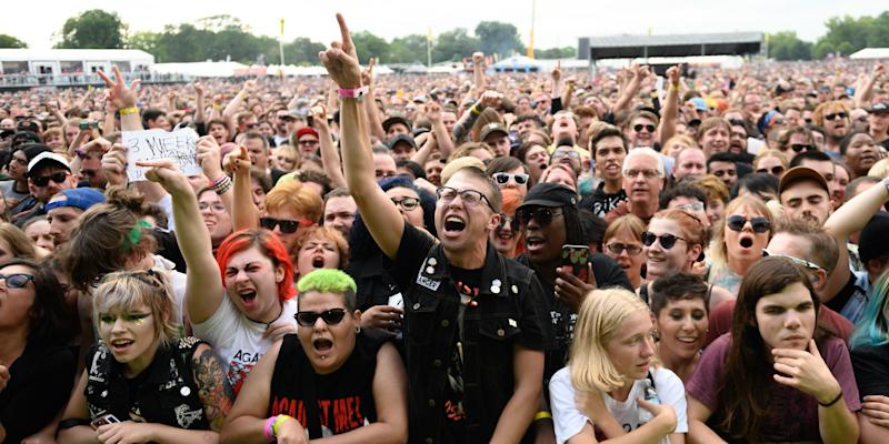 Riot Fest 2021 Initial Lineup Announced: My Chemical Romance, Smashing Pumpkins, and More