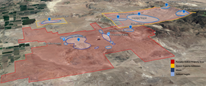 Nevada Copper Land Acquisitions and Targets