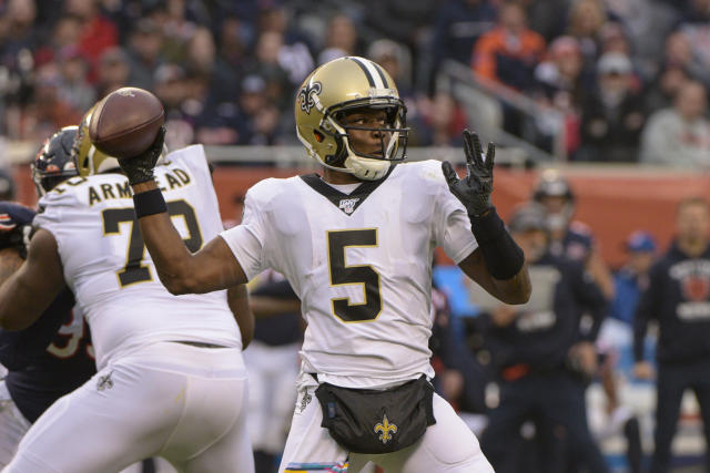 Teddy Bridgewater and several other experienced quarterbacks will be available this offseason. (AP/Mark Black)