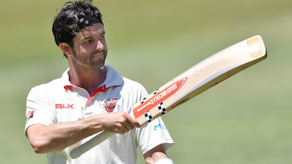 Callum Ferguson was dismissed for 97 in his final first-class innings for South Australia. (Photo by Mark Brake/Getty Images)