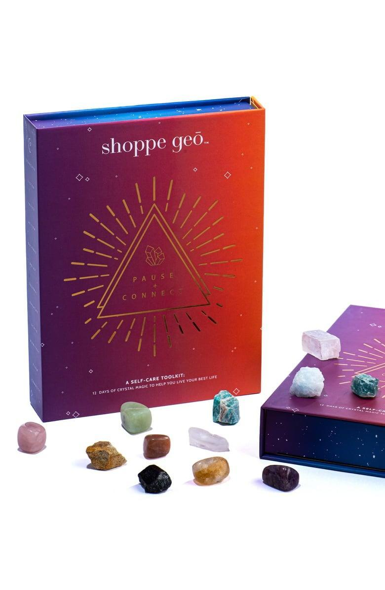 <p>They'll really appreciate this <span>Shoppe Geo Self Care Tool Kit</span> ($40).</p>