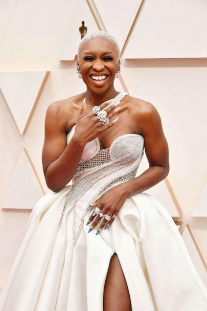 PHOTO: Cynthia Erivo arrives at the Oscars, Feb. 9, 2020, in Hollywood, Calif. (Amy Sussman/Getty Images)