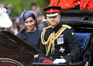 Meghan made her first post-maternity appearance in 2019. (Wire Images)
