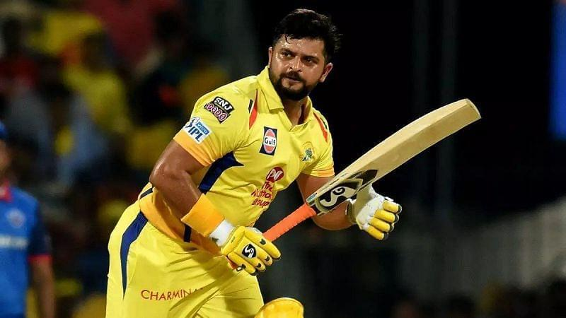 Suresh Raina is CSK's second-most capped player in the IPL