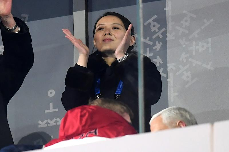 Kim Jong Un's Sister Makes History as She Arrives at Winter Olympics in South Korea
