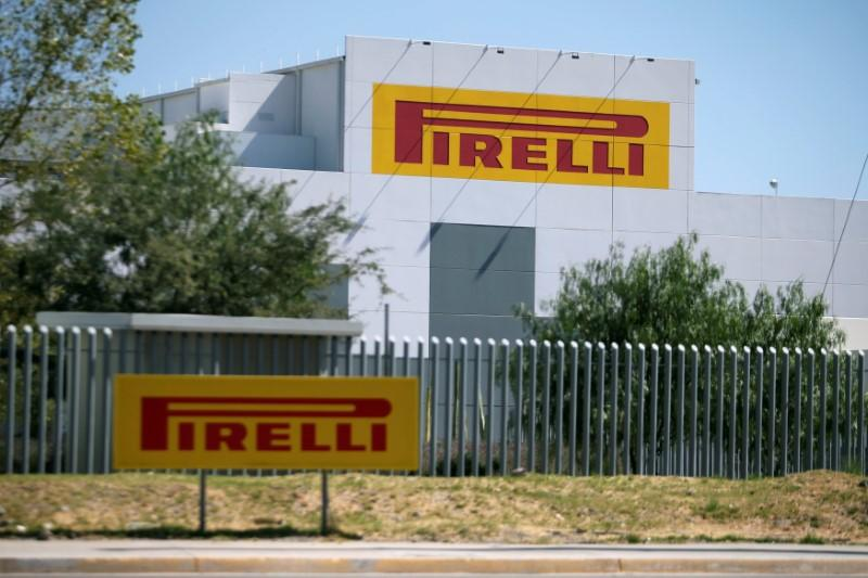 FILE PHOTO: View of the plant of Pirelli tIres inside the Santa Fe Industrial Park in Silao
