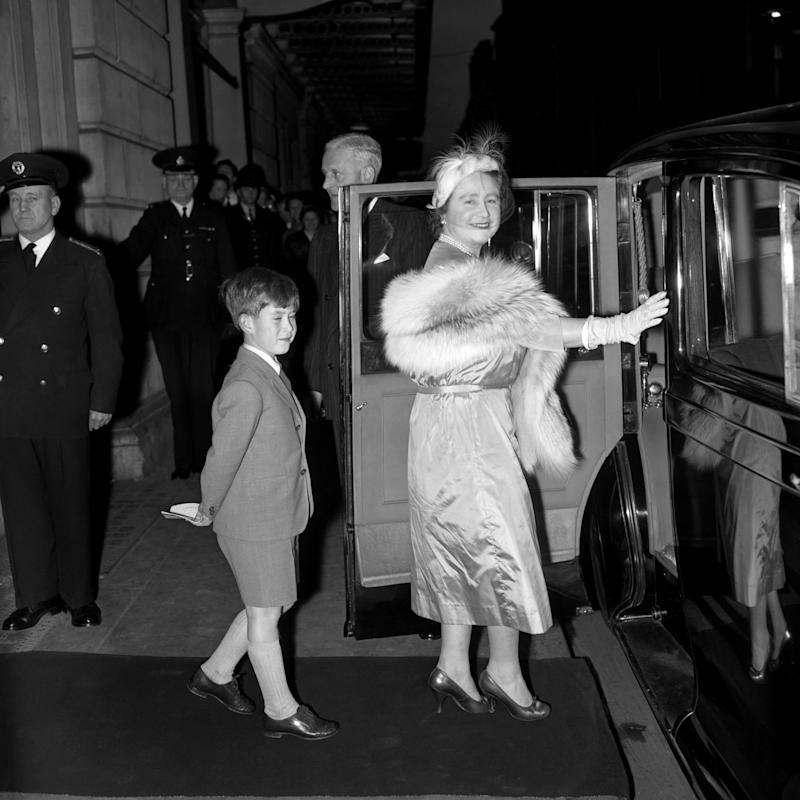 Prince Charles Queen Mother - Press Association