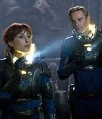 Noomi Rapace and Michael Fassbender