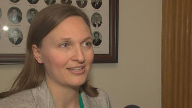 Green Party MLA Megan Mitton said much of the carbon tax revenue is going to projects that will have no impact on fossil fuel emissions for a long time, if ever.  (CBC News file photo - image credit)