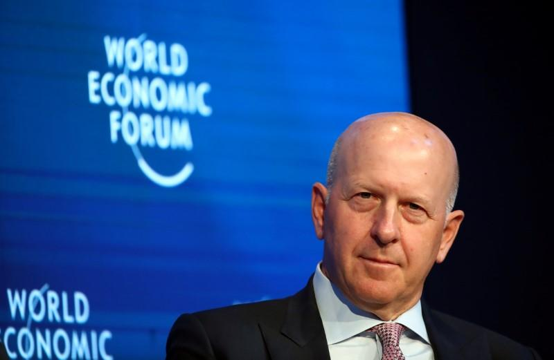 Goldman CEO says process on cancelled WeWork IPO 'worked'
