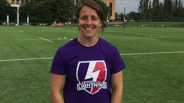 Katy Daley-Mclean returns to action for Loughborough Lightning against Richmond