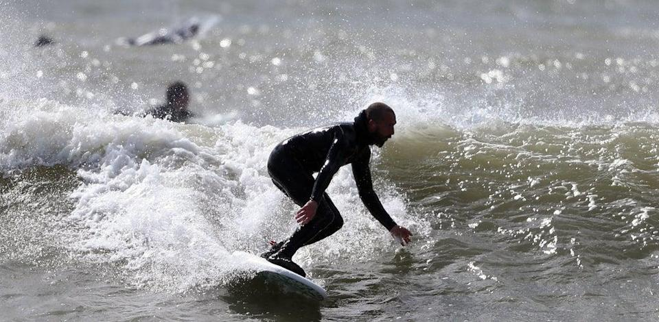 The public are being reminded of the dangers of rip currents (Niall Carson/PA) (PA Wire)
