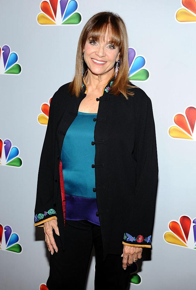 "Valerie Harper arrives at NBC's taping of ""Betty White's 90th Birthday: A Tribute to America's Golden Girl"" at the Millennium Biltmore Hotel on January 8, 2012 in Los Angeles, California."