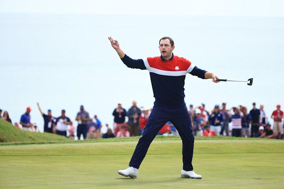 Patrick Cantlay, who won all of his matches, was one of a number of impressive Ryder Cup rookies (Getty Images)