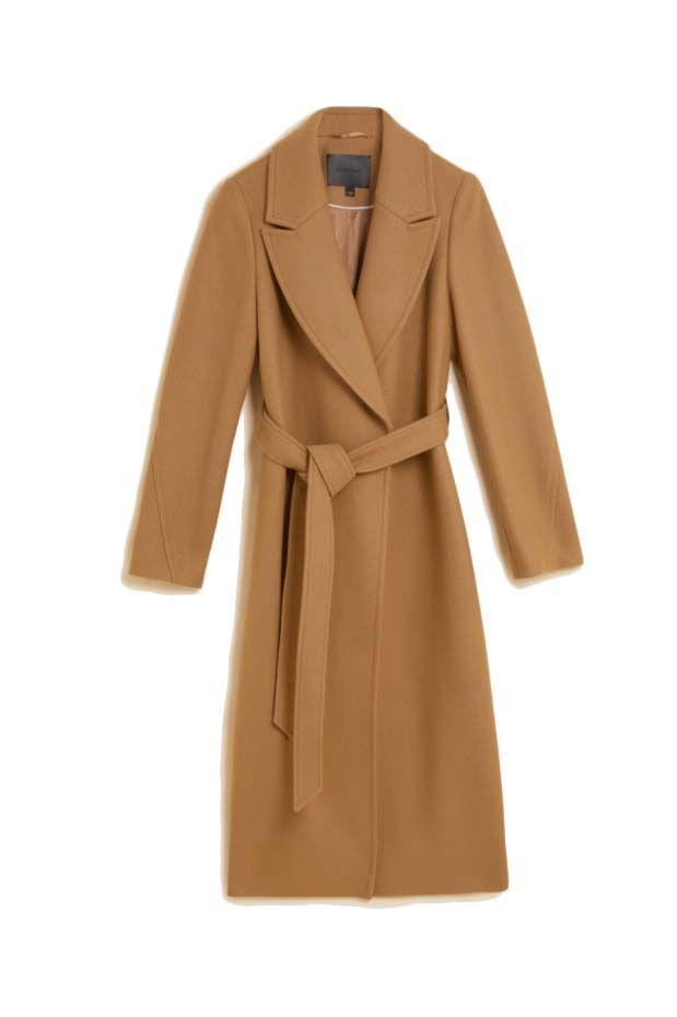 """<p><a class=""""link rapid-noclick-resp"""" href=""""https://www.marksandspencer.com/wool-belted-longline-wrap-coat/p/clp60516039"""" rel=""""nofollow noopener"""" target=""""_blank"""" data-ylk=""""slk:SHOP NOW"""">SHOP NOW</a></p><p>With both a generous wrap shape, sash belt and sweeping notched lapels, Marks & Spencer's offering ticks all of the typical 'camel coat' boxes in one. It's some of the best outerwear we've seen on the high street for under £150.</p><p>Wool Belted Longline Wrap Coat, £149, Autograph for M&S</p>"""