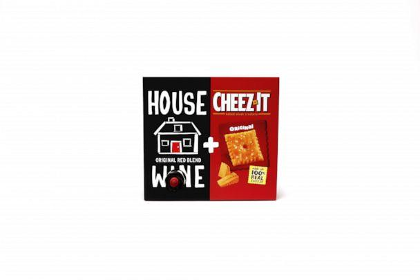 PHOTO: Cheez-It is out with a new collab with Precept Wine for the summer. (Krispr/Edelman for The Kellogg Company)