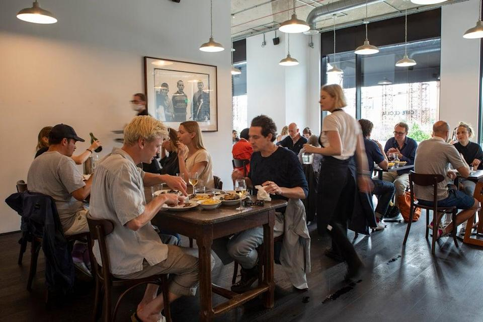 Destination: Cafe Cecilia is becoming a place to be seen (Adrian Lourie)